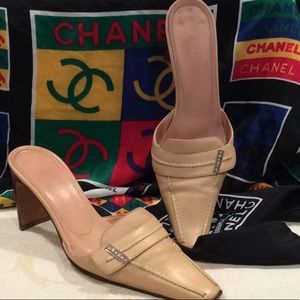 """GREAT CONDITION, AUTHENTIC """"CHANEL"""" CLASSIC MULES"""
